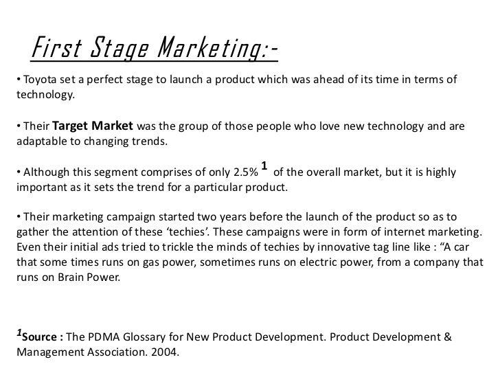 toyota prius target market