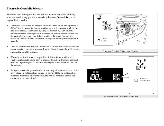 Toyota Prius Hev Erg 3rd Gen Manual. Button Push 13. Wiring. Gea Pwer Switch Wiring Diagram For Slide Out At Scoala.co