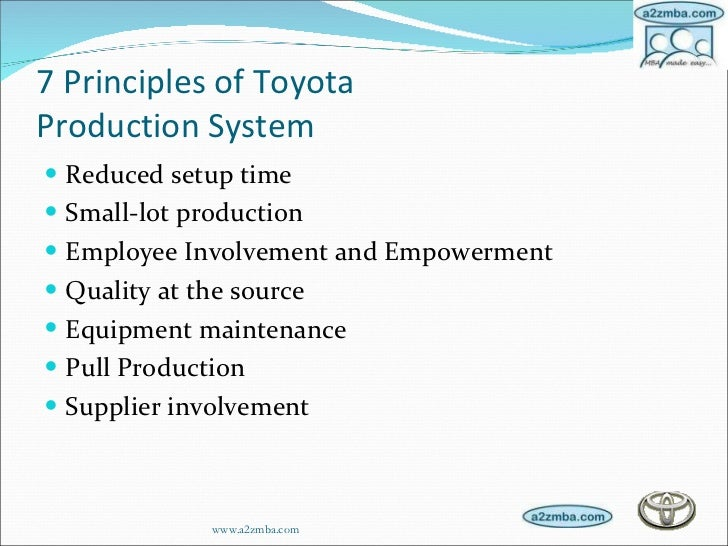 toyota jit case study Toyota invest in 1tech's process engineering expertise this case study describes how one of the world's toyota invented the concept of just in time in.