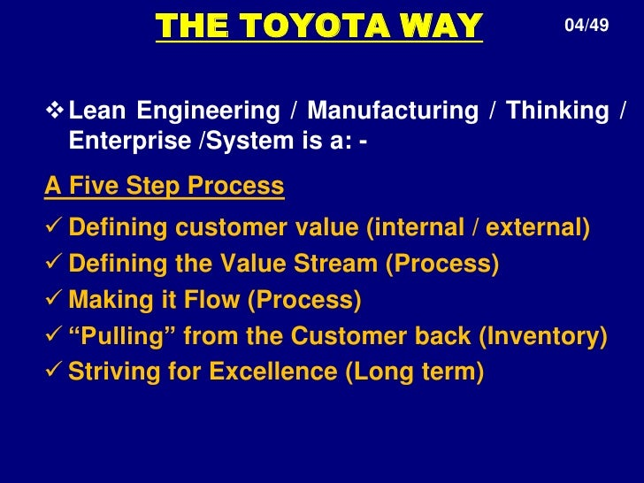 production management system of toyota Meet tssc toyota advisors roll up their sleeves to partner with small to mid-sized manufacturers, local governments and non-profits to find better ways of doing things and help them become more productive, maximize available resources and improve quality and safety.