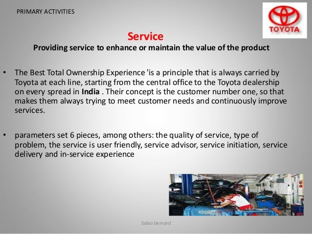 sourcing strategy of toyota Disruption risk and optimal sourcing in multitier supply networks erjie ang facebook manufacturers particularly toyota were especially affected how does the manufacturer's optimal sourcing strategy depend on the con guration of the supply network second.