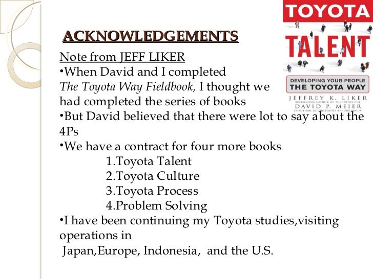 The toyota way | free lean manufacturing resources, training, and.