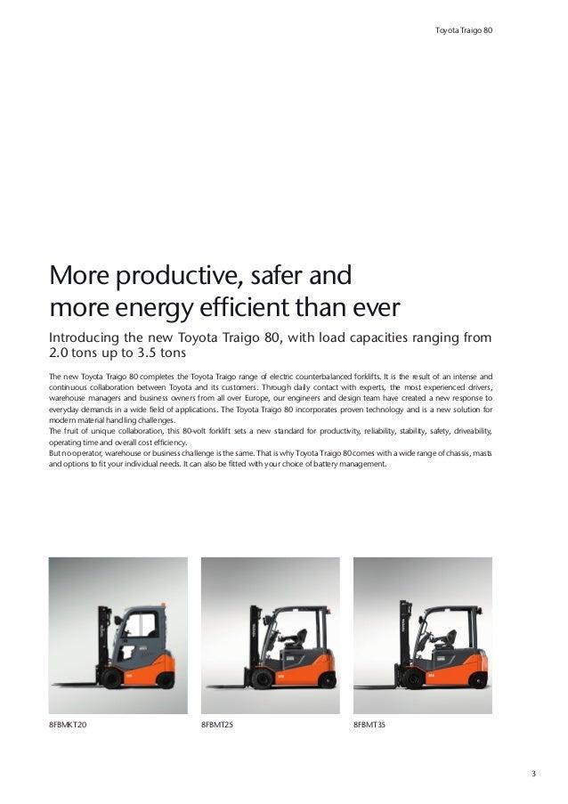 The Toyota Traigo 80 Boosts Your Productivity