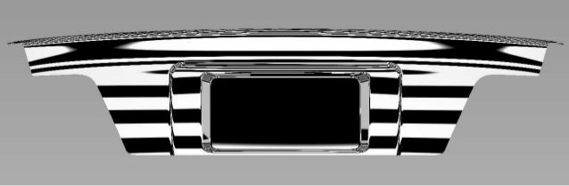 Toyota trunk  Class A in Alias design