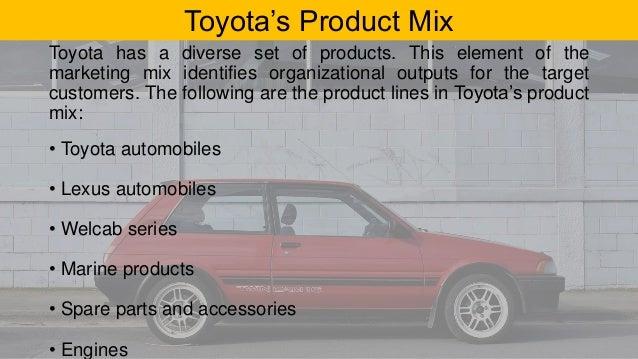toyota marketing mix Marketing mix strategies  analysis and evaluation of toyota's marketing strategy  documents similar to analysis and evaluation of toyota's marketing strategy.