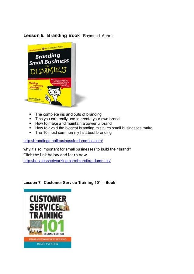 great customer service techniques pdf