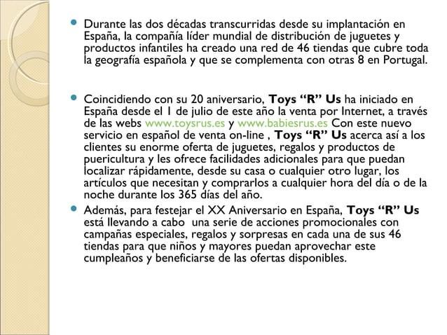  Durante las dos décadas transcurridas desde su implantación en España, la compañía líder mundial de distribución de jugu...