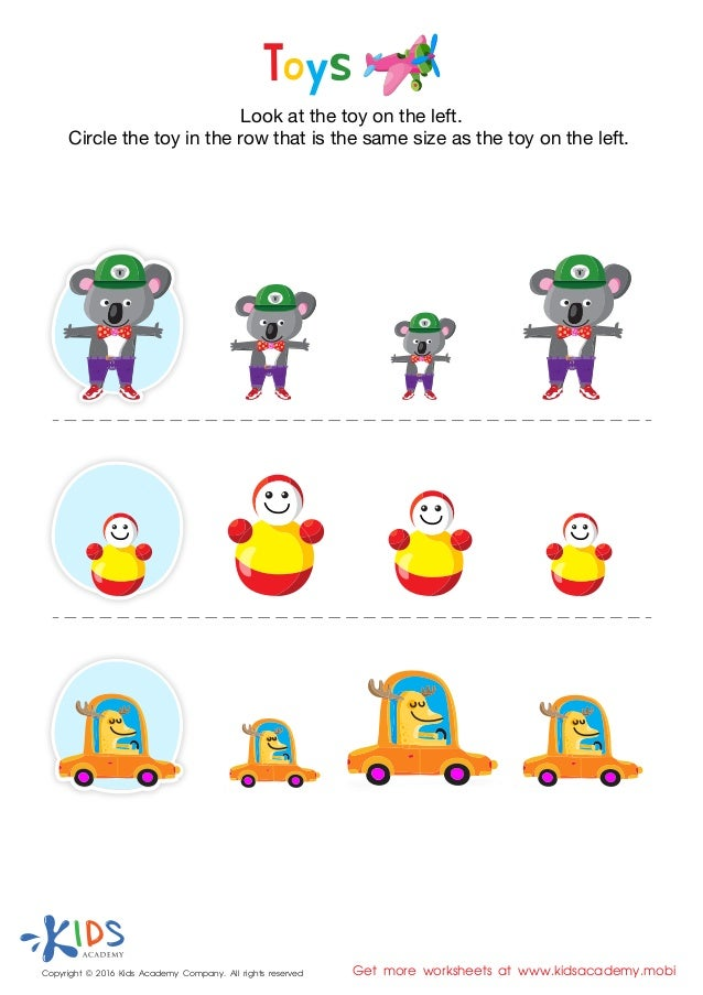 Collections of Pre Kindergarten Worksheets Printables, - Easy ...