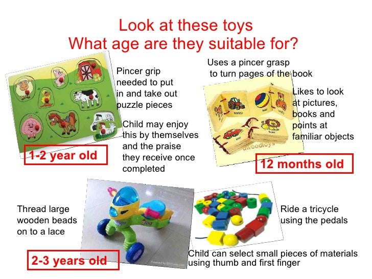 Age Appropriate Toys : Toys development unit assignment