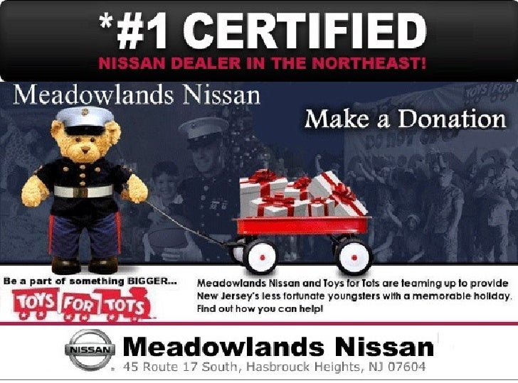 Toys for Tots at Meadowlands Nissan Hasbrouck Heights NJ