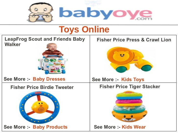 Toys OnlineLeapFrog Scout and Friends Baby     Fisher Price Press & Crawl LionWalkerSee More :- Baby Dresses          See ...