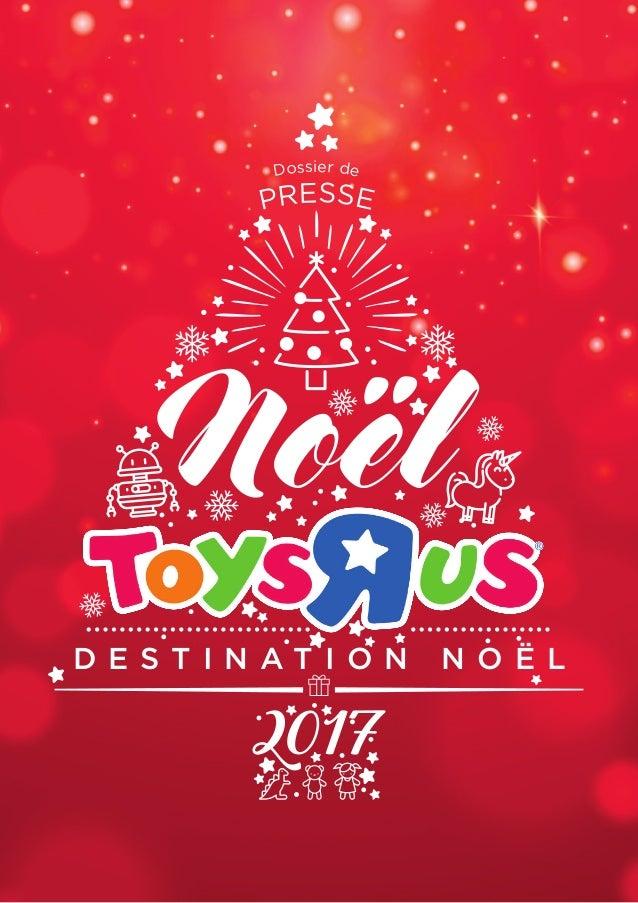 Dossier de presse Noël Toys\'R\'Us - \