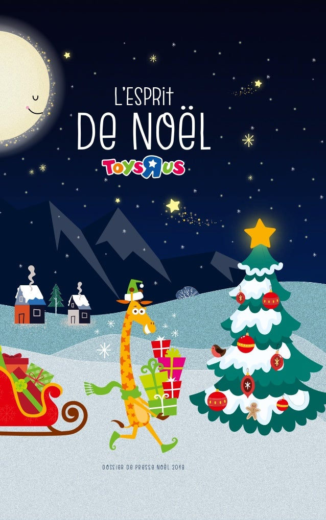 DP 2018 - L\'Esprit de Noël Toys\'R\'Us