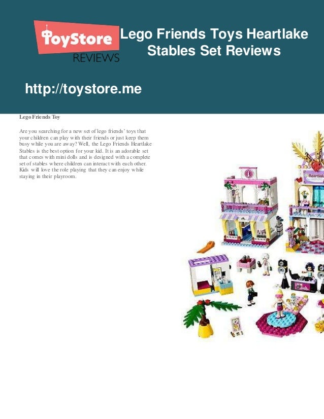 Toystoreme Lego Friends Toys Heartlake Stables Set Reviews