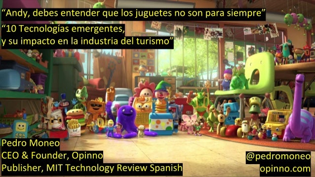 Toy story and innovation. Toys don't last forever