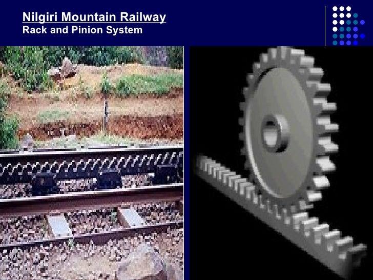 38 Nilgiri Mountain Railway Rack