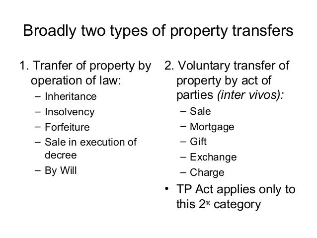 Sale In Execution Movable Property