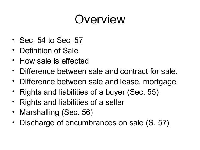 Topic 9. Sale of immovable property Slide 3