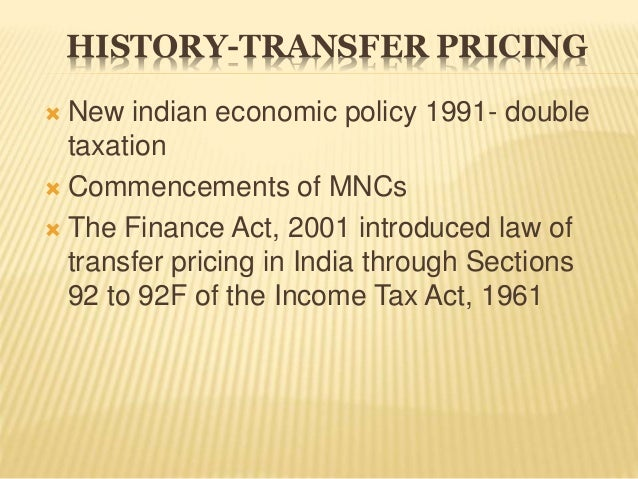 Double Taxation System in India