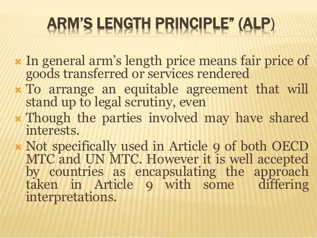 ARM S LENGTH PRINCIPLE EBOOK