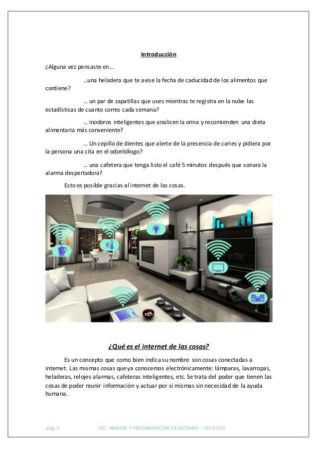 IoT - Internet de las Cosas - Internet of things