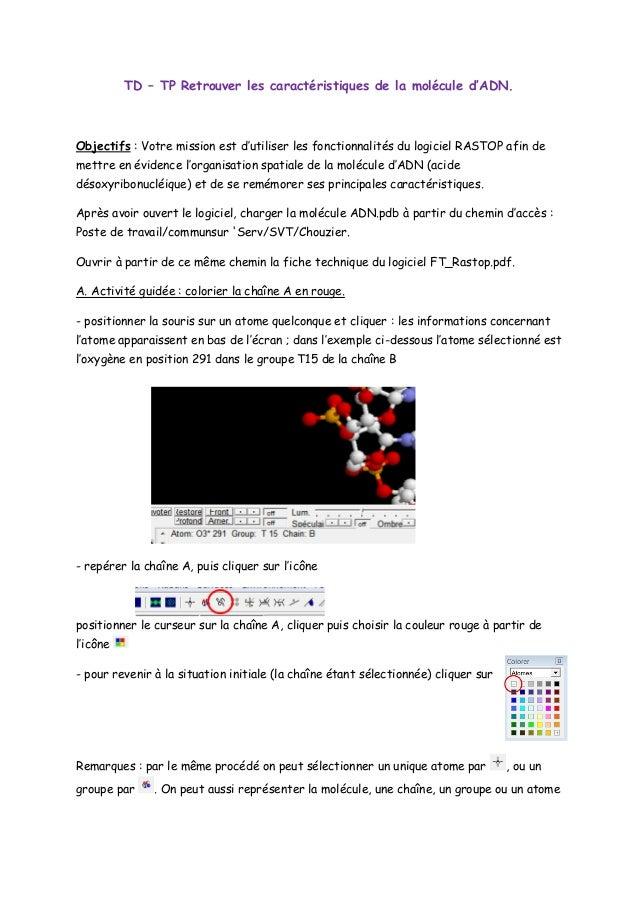 ADN RASTOP MOLECULE TÉLÉCHARGER