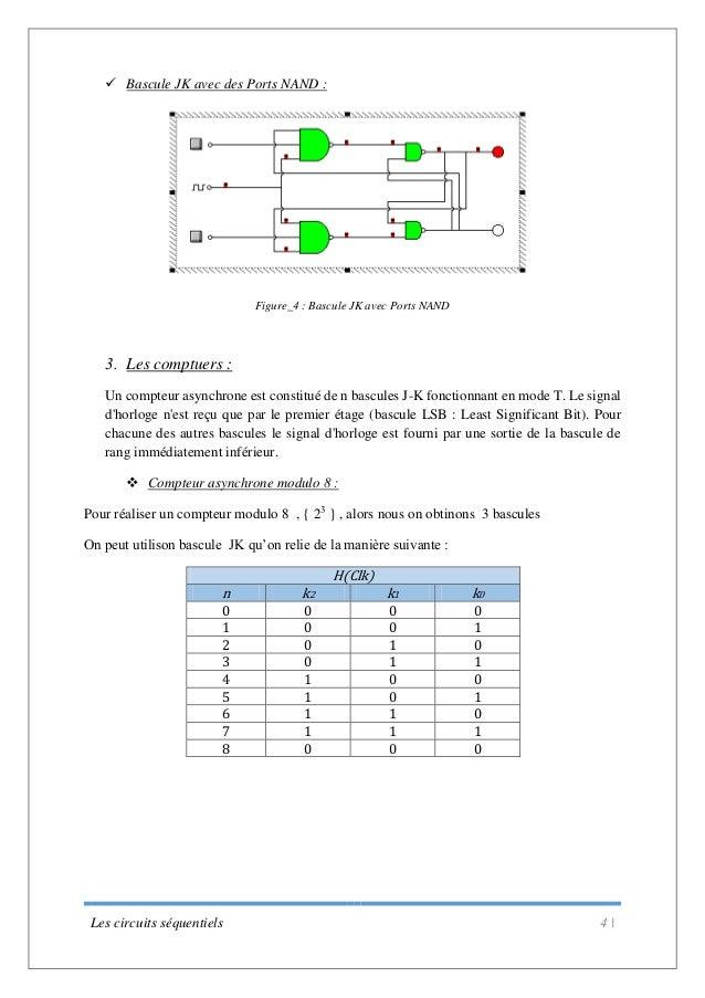 Tp les bascules logique combinatoire for Porte xor avec nand