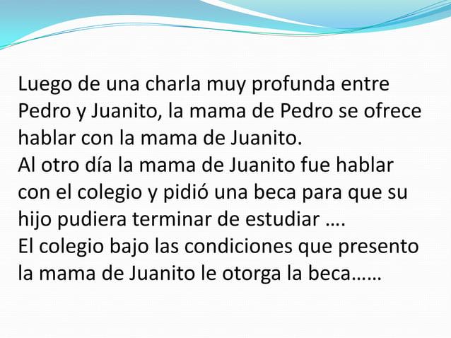 Foto novela.- Los derechos de Juancito