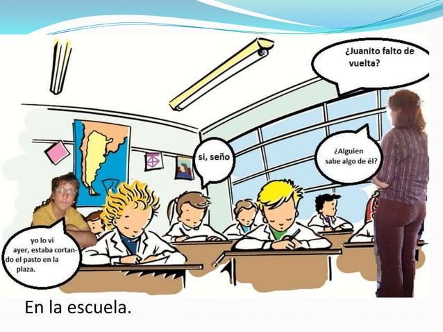 Pedro invito, a su casa, a Juanito para tomar la leche y charlar sobre los derechos del niño.