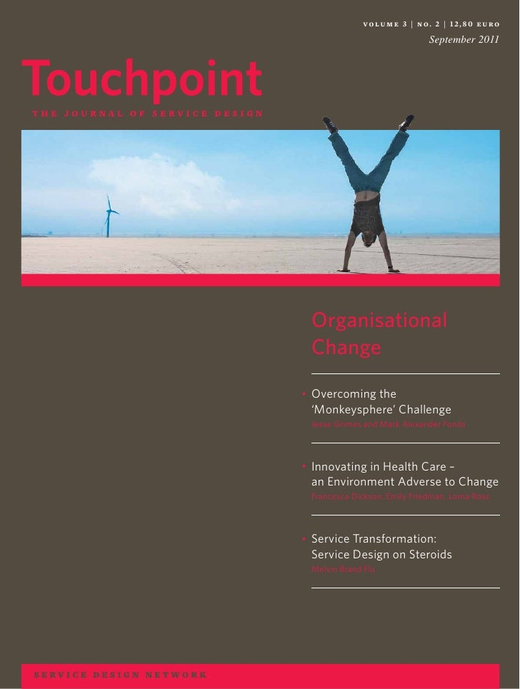 volume 3 | no. 2 | 12,80 euro                                 September 2011    Organisational    Change•   Overcoming the...