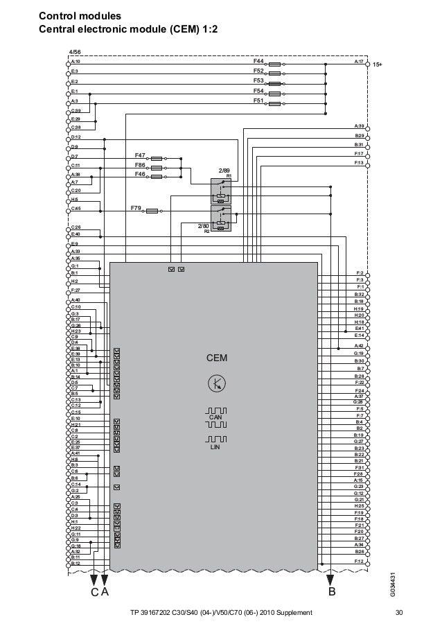 2000 Volvo V70 Ignition Cylinder Wiring Diagram
