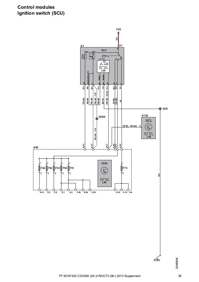 Tp39167202 2010 C30 S40 V50 C70 Supplement Wiring Diagram
