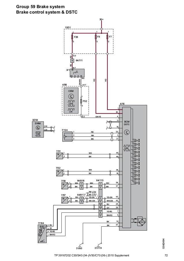Tp39167202 2010 c30 s40 v50 c70 supplement wiring diagram on