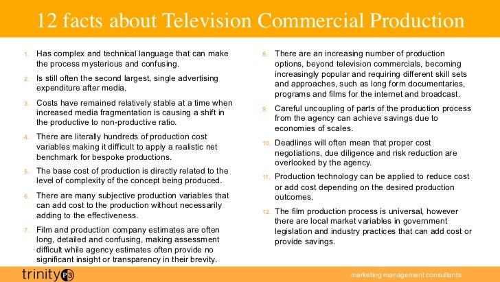 tv production process The name comes from the process of advertisers buying ad time up front based on the perceived success of the fall lineup  to learn more about tv production .