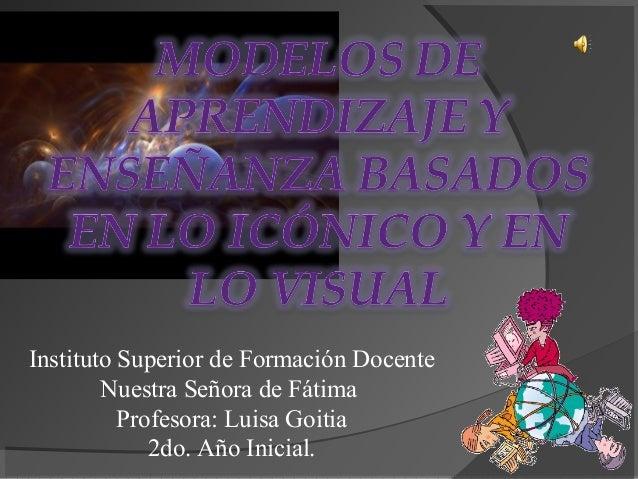 Instituto Superior de Formación Docente Nuestra Señora de Fátima Profesora: Luisa Goitia 2do. Año Inicial.