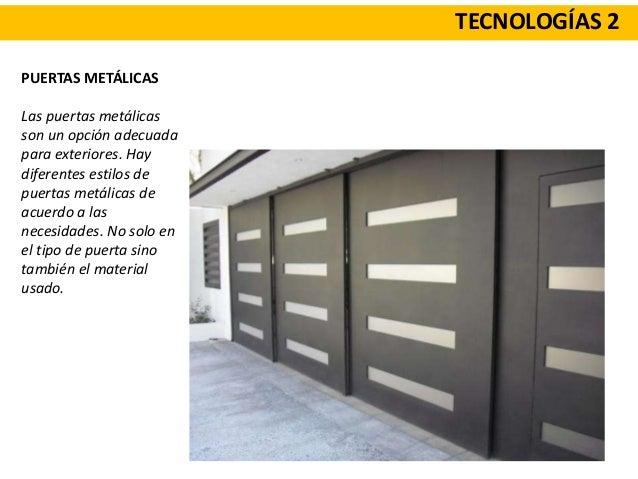 Teorica carpinterias for Puertas metalicas modelos