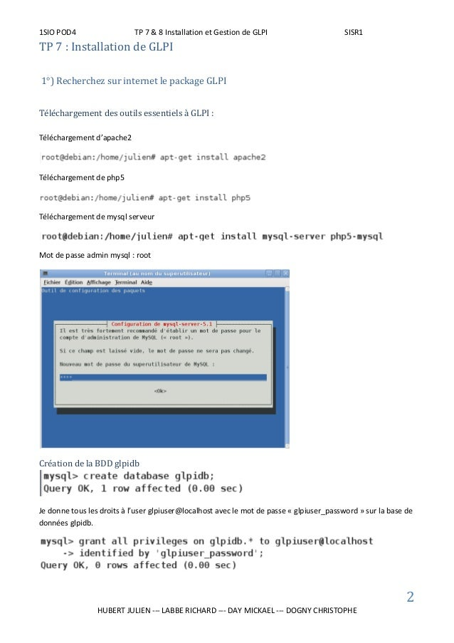 Manipulation GLPI / OCS Slide 3
