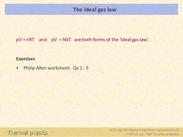 Tp 9 ideal gas law shared – Ideal Gas Law Problems Worksheet