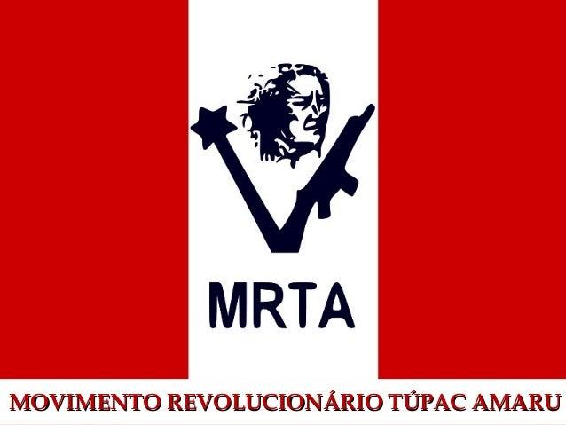 MOVIMENTO REVOLUCIONÁRIO TTÚÚPPAACC AAMMAARRUU