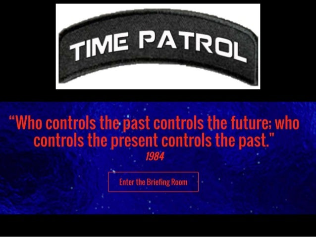 The Same Date. Six Different Years. The Time Patrol must simultaneously send an agent back to each 24 hour bubble to battl...