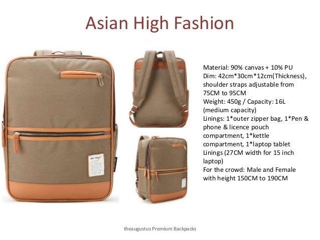 theaugustus premium backpacks a look at the selection
