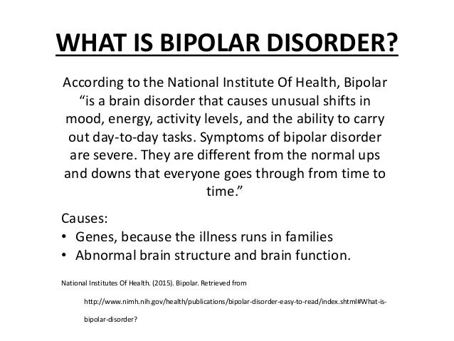 what is bipolar disorder, Skeleton