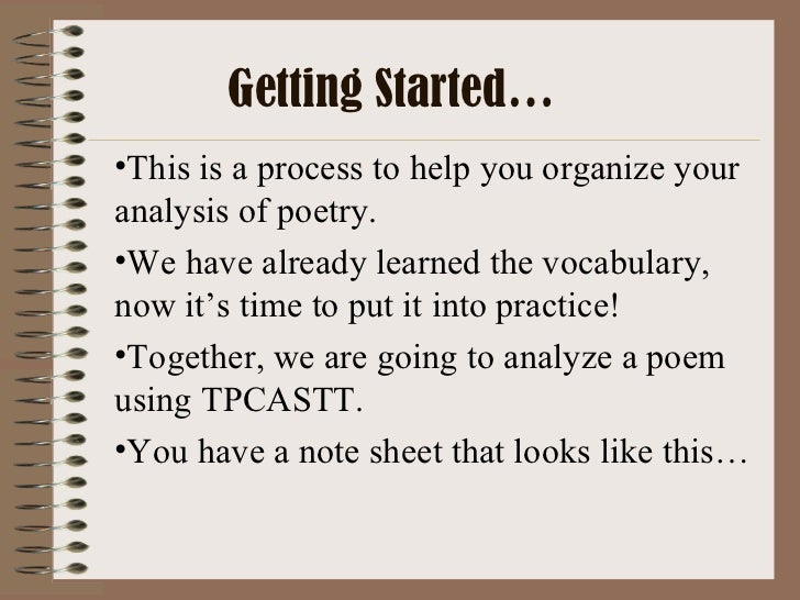 when you are old poetry analysis How to analyze a poem  1 to begin  as you pay attention to the literal meanings of the words of the poem, you may see some  someone young or old is any.