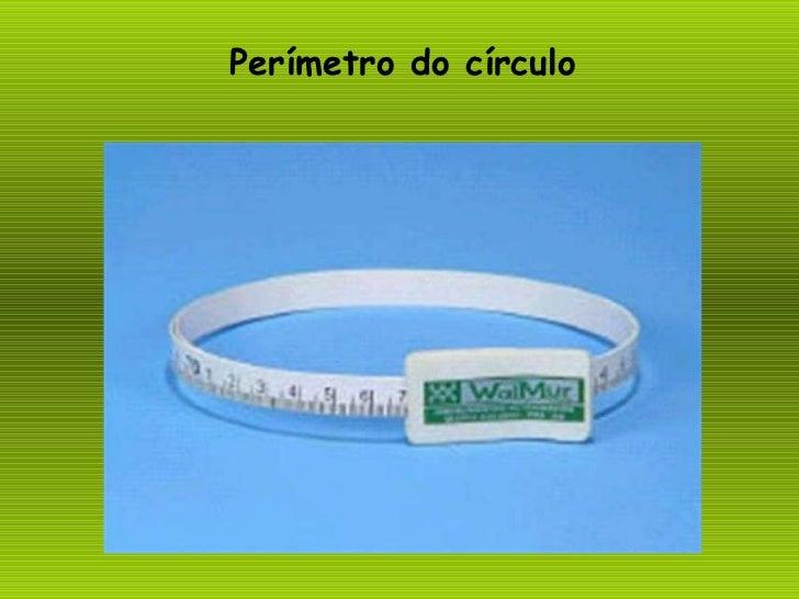 Perímetro do círculo