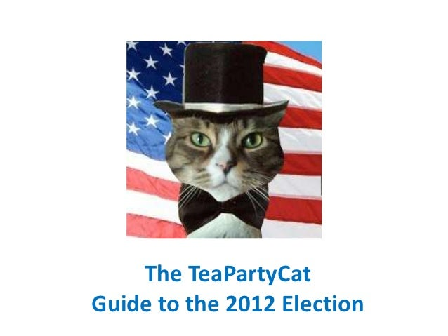 The TeaPartyCatGuide to the 2012 Election