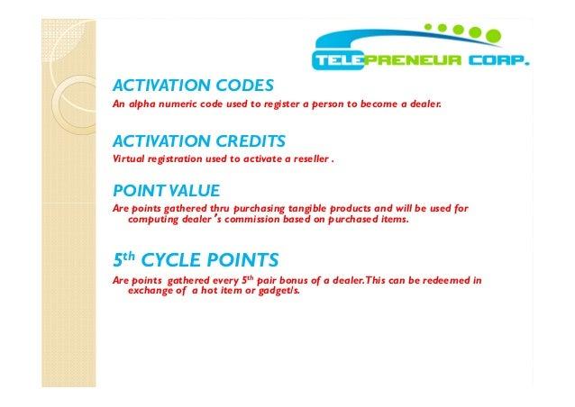 tpc activation code