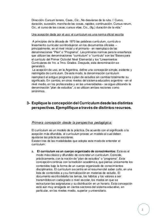 Concepto y concepciones acerca del curriculum for Curriculum de nivel inicial