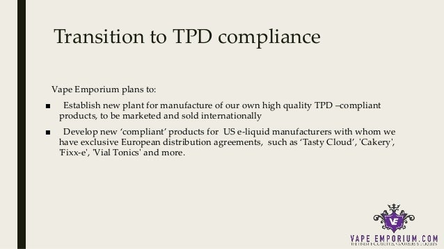 TPD in the UK – The future of vaping discussed by a vape
