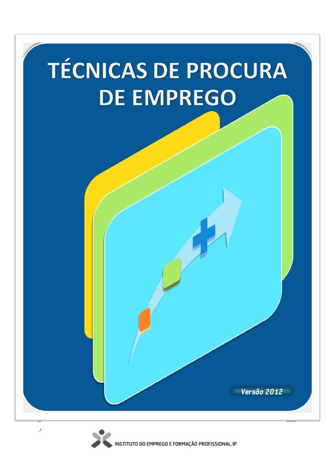 Técnicas de Procura de Emprego 1Versão 2012