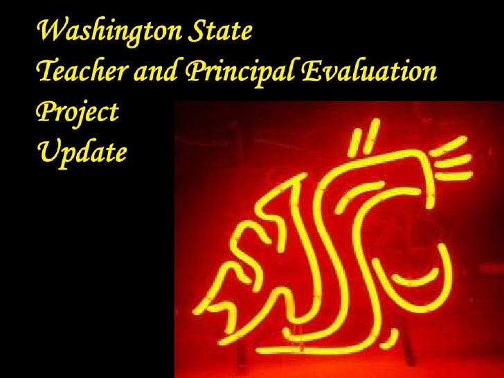 Washington State<br />Teacher and Principal Evaluation<br />Project<br />Update<br />